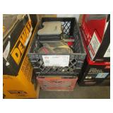 2 BOXES WITH ASSORTED MISCELLANEOUS ITEMS