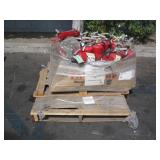 PALLET OF ASSORTED FIRE EXTINGUISHERS