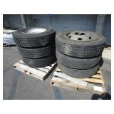 LOT WITH 6 TIRES