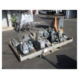 LOT WITH 10 VACUUM PUMPS