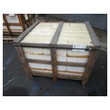 LOT WITH 360 PCS OF LIMESTONE TILES