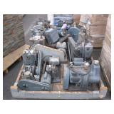 APPROX. 9 WELCH DUO-SEAL VACUUM PUMPS