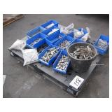 PALLET OF ASSORTED METAL BOLTS