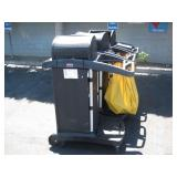 3 RUBBERMAID JANITORIAL CARTS