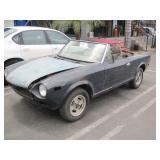(DEALER ONLY) 1981 FIAT SPIDER 2000
