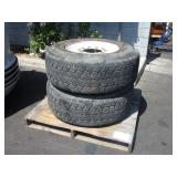 LOT WITH 2 CONTINENTAL TIRES