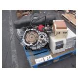 LOT WITH SX4 TRANSMISSION, KIA FORTE FUEL TANK &