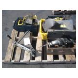 PALLET OF SHOP TOOLS
