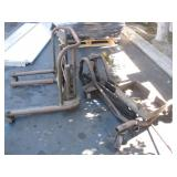 LOT WITH TRANSMISSION JACK & WHEEL LIFT