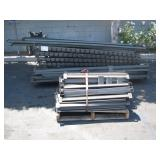 PALLET RACK UPRIGHTS & CROSS MEMBERS