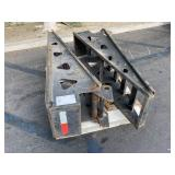 PALLET WITH 2 LOADING RAMPS FOR TRAILERS