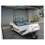 CUSHMAN UTILITY CART  NO BATTERY, NO KEY, HOURS UN