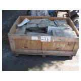 BOX OF ASSORTED STONE TILE