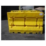 2 PLASTIC K RAIL BARRIERS