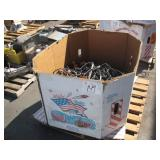 BOX OF ASSORTED COMMERCIAL EXTENSION CORDS