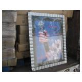 TRAILER FULL OF DECORATIVE PICTURE FRAMES
