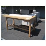 WOODEN DRAFTING TABLE