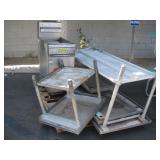 QUALITE FRIER & STAINLESS STEEL PREP TABLES