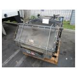 PALLET WITH 3 EXMARK MOWER DEBRIS CATCHER: