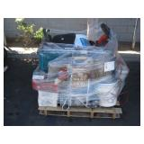 PALLET OF MISCELLANEOUS ITEMS: LAPTOPS, TRIMMERS,