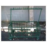 4 WHEELED METAL CART: