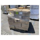 PALLET WITH SQUEEGEE SCRUBBERS
