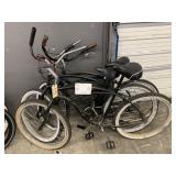 3 BLACK BEACH CRUISER BIKES