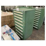 STANLEY VIDMAR 9 DRAWER STORAGE CABINET