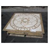 DECORATIVE TILE TABLE TOP