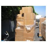 PALLET OF AUTOMATIC SENSOR TRASH BINS