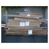 PALLET OF GRANITE BOARD CONTOUR FRAMES