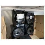 SONY STEREO SOUND SYSTEM PRESSURE HORN