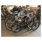LOT WITH 4 BICYCLES