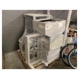 SPETEC LAMINAR-FLOW BOX FBS 37, SAMSUNG MONITOR &