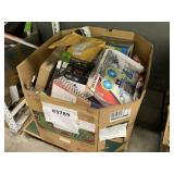 BOX WITH MISCELLANEOUS ITEMS