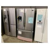 SAMSUNG 24.6 CU FT 3 DOOR STANDARD DEPTH FRENCH