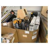 LOT WITH UTILITY BASE/WALL CABINET, DEWALT 28""