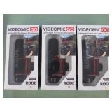 1 LOT W/ VIDEOMIC ON CAMERA MICROPHONES