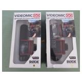1 LOT W/VIDEOMIC GO MICROPHONE