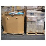2 PALLETS OF ECO PLASTIC LIDS & ASSORTED  PHONE