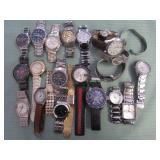 1 BAG W/WATCHES