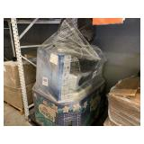 PALLET WITH ASSORTED FANS & AIR CONDITIONERS