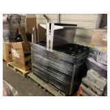 2 STAINLESS STEEL STOVE & OVEN