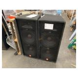 2 JBL JBK100 SERIES SPEAKERS