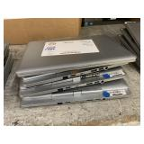 LOT WITH 4 WINDOWS ELITEBOOK LAPTOPS