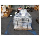PALLET OF PVC PLUMBING FIXTURES