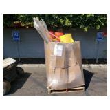 PALLET OF MISCELLANEOUS SHOP SUPPLIES
