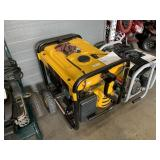 DEWALT DXGNR 7000 GASOLINE POWERED ELECTRIC START