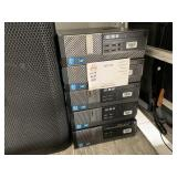 LOT WITH 5 DELL OPTIPLEX  790 COMPUTERS