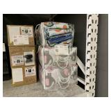 LOT WITH INFANT BEDDING SAFETY